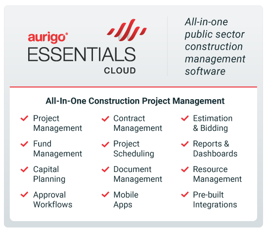 Aurigo Essentials Cloud